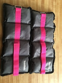 New no tags women's health 2 lb ankle weights. Yes I've had them but of course never used them they just moved with me! Located off lake mead and jones area asking $10 Las Vegas, 89108