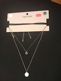 Brand new necklace set  Burnaby