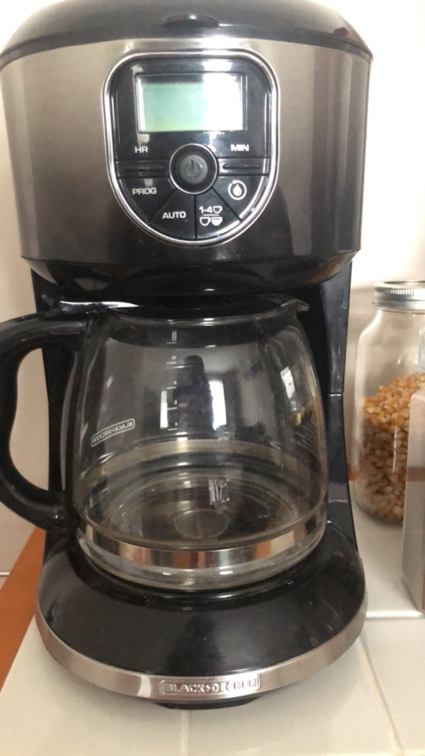 Black and Decker coffee maker