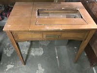 Antique sewing cabinet (does not have a sewing machine in it). Selling for $10  Bakersfield, 93307
