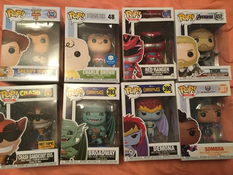 Funko Pops Various TAKE ALL FOR $50 c45713b1-46f9-4acc-8272-8a049a2f2346