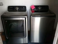 SAMSUNG TOP LOAD WASHER AND GAS DRYER  Menifee
