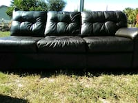 Brown leather Couch 806 mi