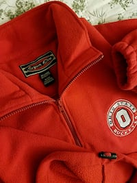red and black San Francisco 49ers backpack 312 mi