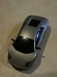 Gray     lamborghini car toy