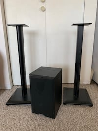 Speaker and stands Vancouver, V6B 1R3