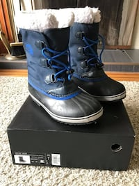 Youth Size 7 Sorel Yoot Pac Nylon Winter Boots Vancouver, V5N 1V5