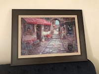 brown wooden framed painting of house Laredo, 78045