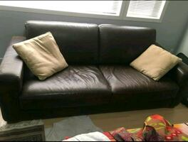 Leather couch - Can Deliver