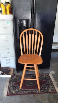 brown and white wooden windsor chair Frederick, 21701