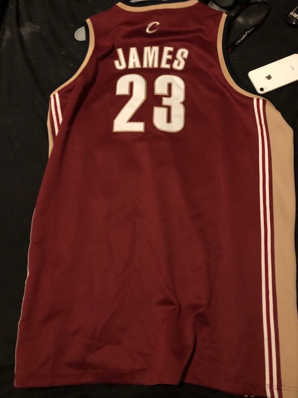 2004  played in Lebron james rookie jersey with authentication 1f1230a3-7963-4743-8562-a5ccf05b6336