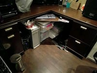 Office desk only and is in  great shape and solid Coquitlam, V3J 4R5