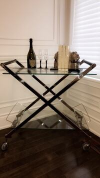 Chrome and Glass Bar Stand Richmond Hill, L4C 7X9