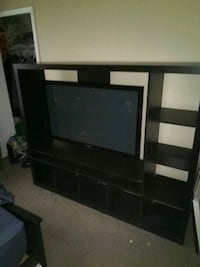 Ikea entertainment center (tv not for sale).  OBO. San Antonio, 78240