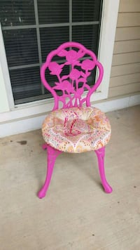 pink and yellow floral chair Arlington, 22209