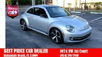 2012 Volkswagen Beetle Turbo PZEV 2dr Coupe 6A w/ Sound and Navigation HALLANDALE, 33009