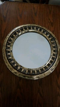 round silver-colored framed mirror Vancouver, V6B 1A9