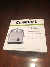 Cuisinart 4 Cup Rice Cooker and Steamer