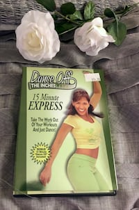 """15 Minute EXPRESS"" Workout DVD by DANCE OFF The Inches!! Las Vegas, 89130"