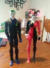 the joker and harley quinn action figure