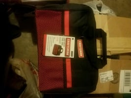 New red and black Craftsman tool bag