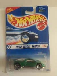 1995 Hot Wheels model series stock car scale model