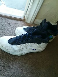 pair of blue-and-white Nike basketball shoes Las Vegas, 89147