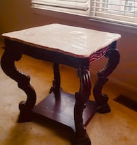 2 coffee burgundy marble tables Germantown, 20874