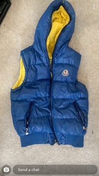 Mens Moncler Vest Medium slim fit