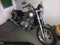 Black and gray cruiser motorcycle Owings, 20736