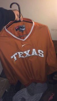 Brown and white Texas Nike jacket Lubbock, 79416