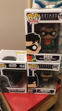 3 Pop Figures ! Winnipeg, R2M 5B1