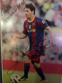 Messi - Poster - A4 size 8275 km