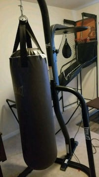 Punching bag with stand, and speed bag Waynesboro, 17268