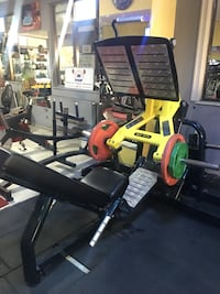 Maxtech DHZ N1056 45º Leg Press Zeytinburnu, 34020