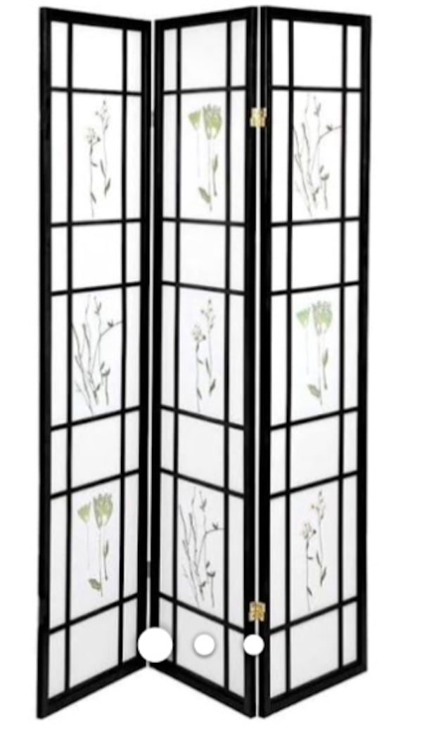Used 1 Beautiful Serene Shoji Screen Room Wall Divider For