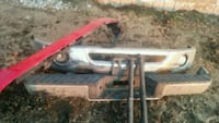 Chrome and red f150 sport bumpers and 2 shocks 04 Mitchell, N0K 1N0