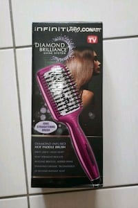 Conair diamond infused hot paddle brush Mississauga, L5B 2C9