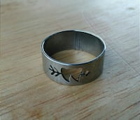 Brand New! Size 8 or 11.5 Stainless Steel Ring