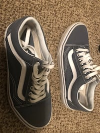 Blue and white vans size 7 Virginia Beach, 23456
