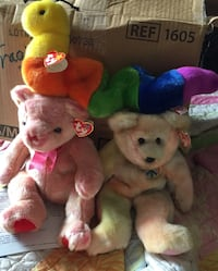 Large with tags 13ins beanie buddies all for $40 $7 for 1