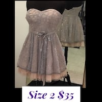 Size 2 Short Formal Dress $35.00 Indianapolis
