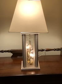 white and brown table lamp Williamsburg, 23188