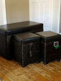 3 piece storage & seating  London, N6P 1A2