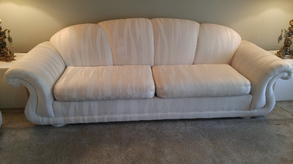 Formal white couch set TORONTO