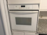 white and black induction range oven Rockville, 20850