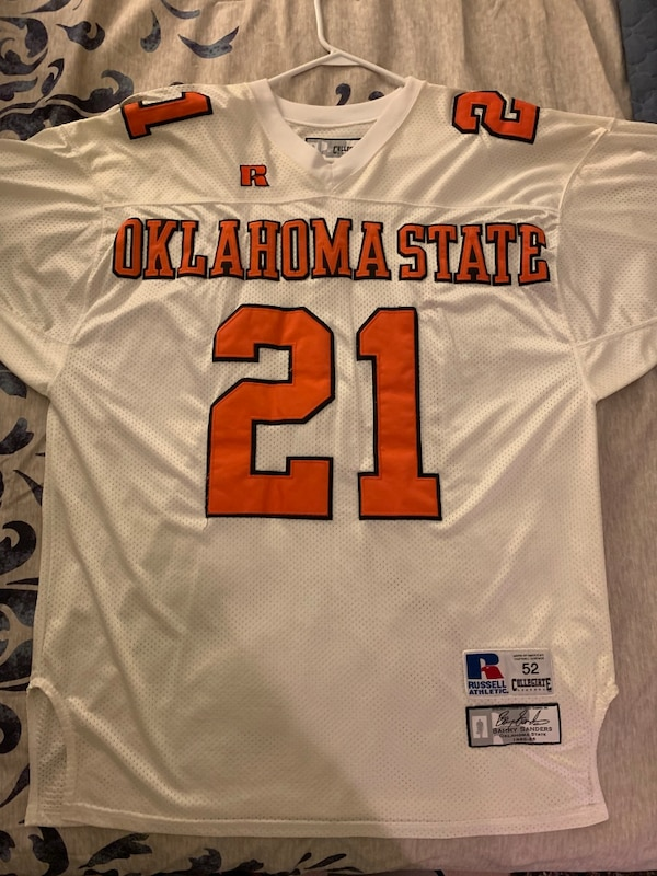 reputable site 27b2d 6f3c4 Barry Sanders Vintage Throwback Jersey