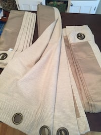 $5 each Floor length drapes Wilmington, 28409