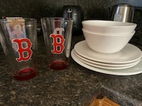 Plates, bowls and glasses Somerville, 02143