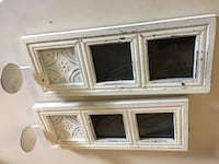 Rustic picture frame/ candle holder. $15.00 for both